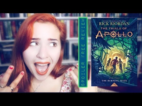 The Burning Maze By Rick Riordan Spoiler Free Review!