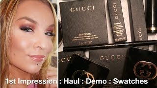 Haul : Demo : Gucci Beauty / Makeup / Cosmetics Thumbnail