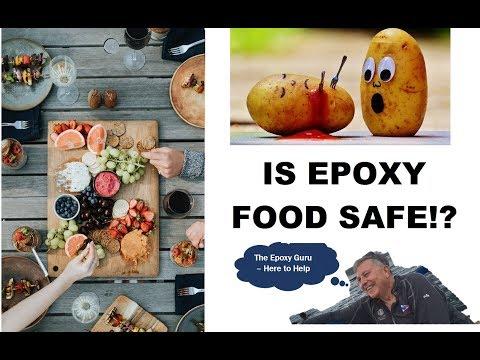 IS EPOXY FOOD SAFE!?