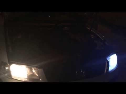 t10 led 17 smd 5050 test, nachrüstung led tagfahrlicht Volkswagen Passat, led vs halogen