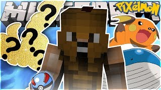 GETTING MY FIRST SHINY + FINDING GIANT POKEMON! (Minecraft Pixelmon FUNNY MOMENTS!)