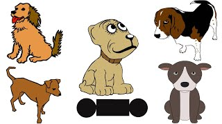 How to Draw a Dog Easy for Kids Step by Step | Learn to Draw a Dog