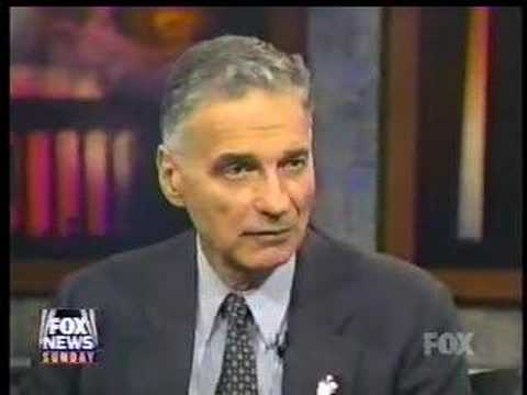 Nader for President 2000 - Fox TV panel interview
