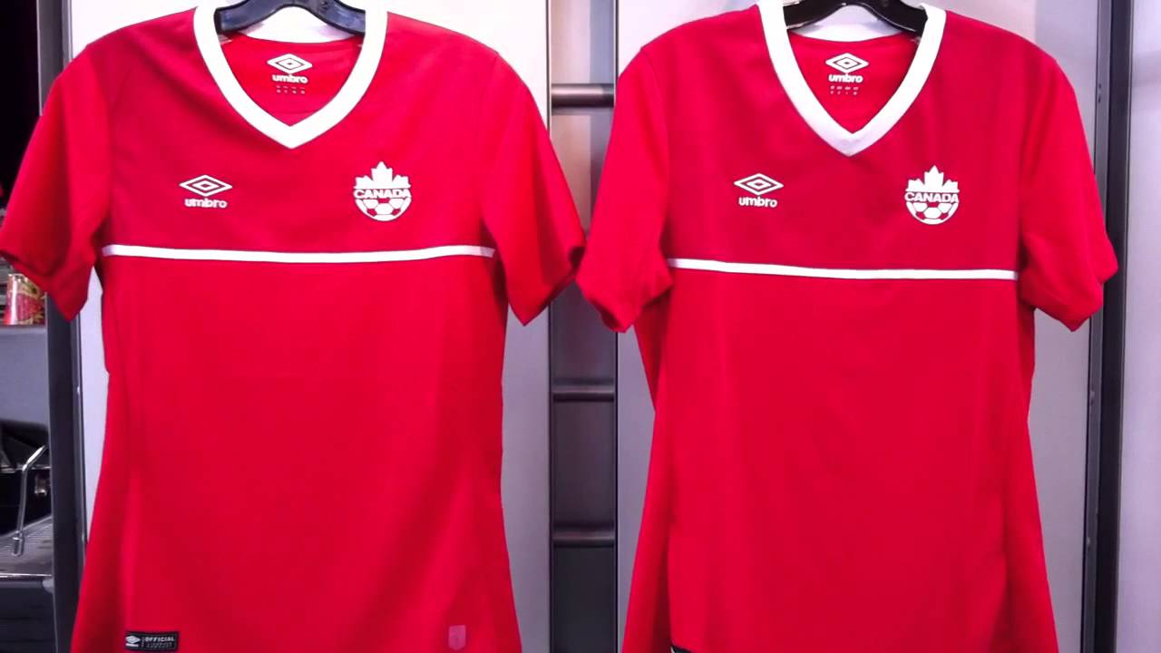 Canada Womens World Cup Jersey Red by Umbro for 2015 at NAS in Vancouver BC  604-299-1721 - YouTube b79d38275c