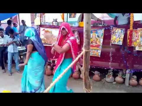 village dehati dance/desi krishna song. by nilam yadav