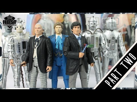 Doctor Who: The Classic Series Action Figures - A History Episode Two