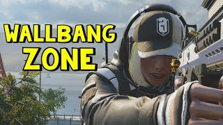 Wallbang Zone | Rainbow Six Siege