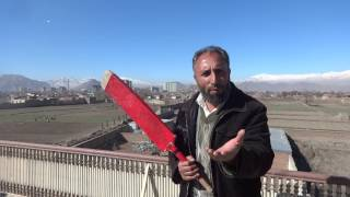 Angry Afghan Cricket Fan