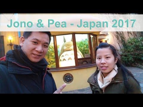 Jono & Pea - Japan 2017 Part 1 - Tokyo