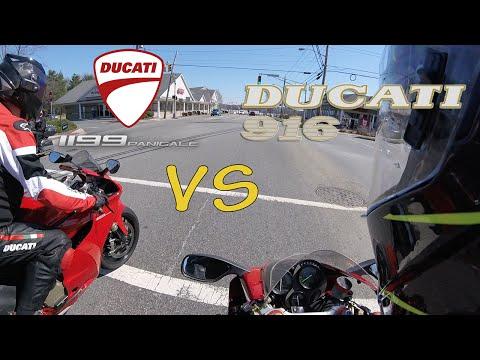 Ducati 916 vs. 1199 Panigale