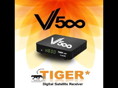 شرح تفعيل سيرفور للتايغر ACTIVER SERVER Tiger v 500