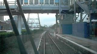 The Docklands Light Railway (DLR): Beckton - Limehouse via Poplar: A Front Seat Eye View