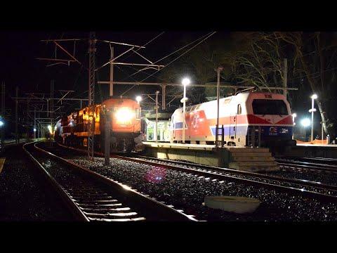 Night Trains in Lianokladi. Draisine cab ride in Bralos Rail Pass.
