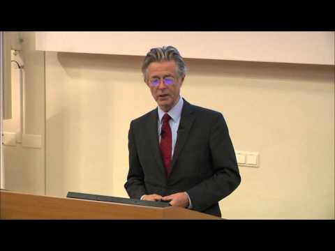 Prof. Joris Voorhoeve On Curbing War and Building Peace in the 21st Century - Lecture 1