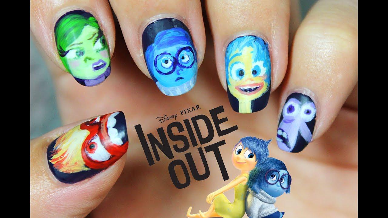 5 diseños de uñas Inside Out - NAIL ART | Del Revés | Intensa-Mente ...