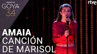 AMAIA - 'CANCIÓN DE MARISOL' | Premios Goya 2020