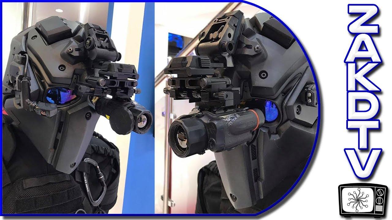 ⭐ TECH FROM THE FUTURE | Devtac Designs Ronin 2 Helmet | Tissue  Nanotransfection | Festo BionicOpter