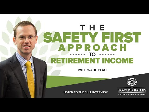 How Annuities Can Serve Your Retirement Portfolio With Wade Pfau