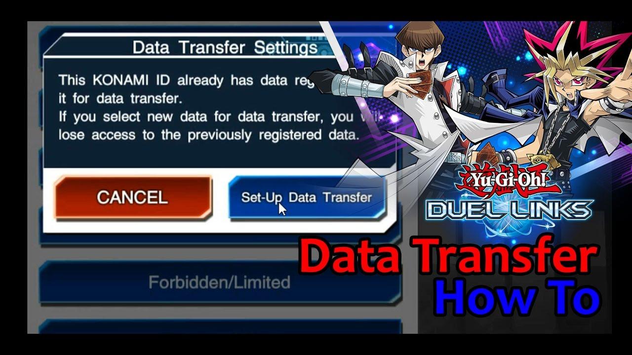 Yu Gi Oh! DUEL LINKS #1 กันพลาด!! วิธีผูก ID Data Transfer