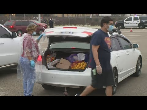 HISD and Houston Food Bank Feed Families