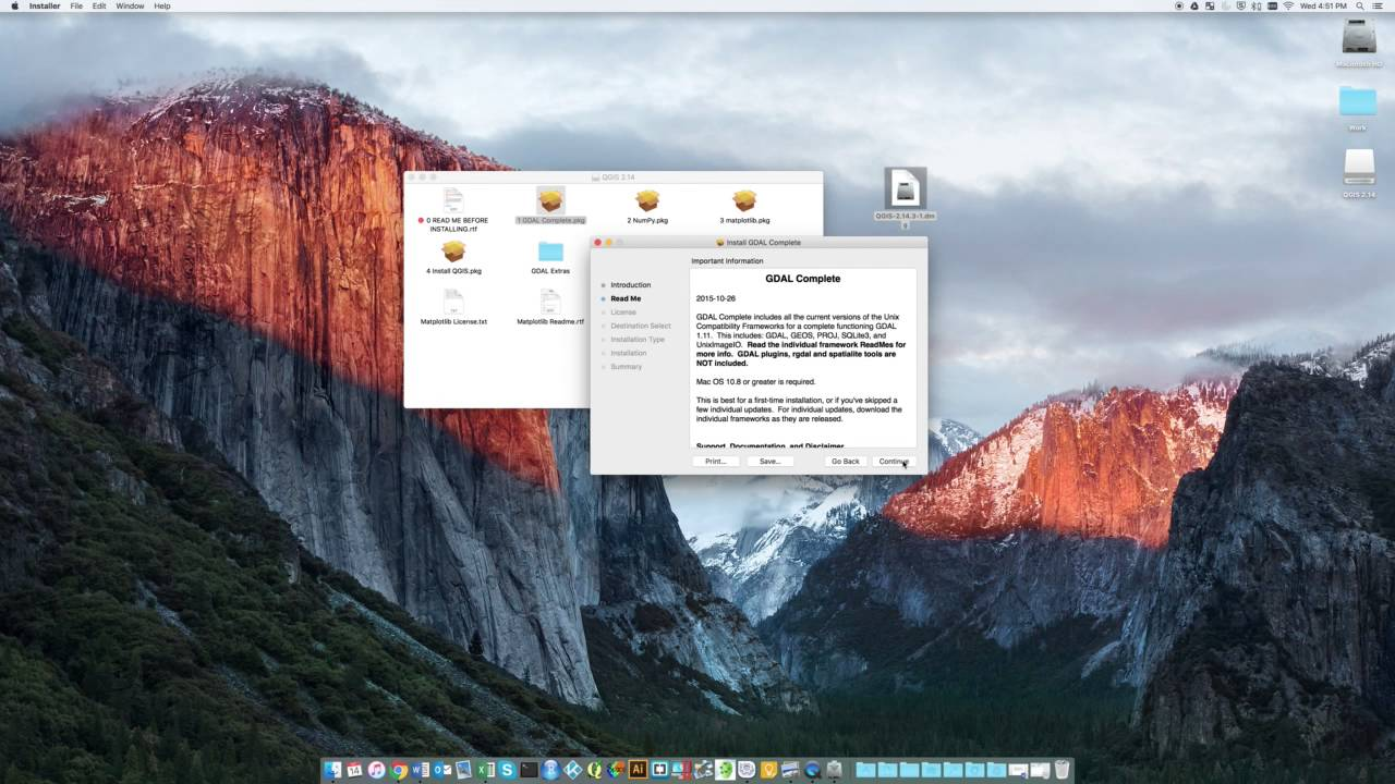 Installing QGIS 2 14 on a Mac
