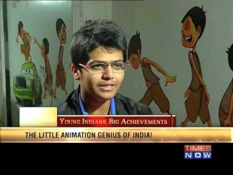 Amazing Indians - Aman Rehman: India's young 'Animation' genius