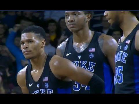 Duke vs Boston College Basketball 2017 (Dec. 09) NCAA Basketball