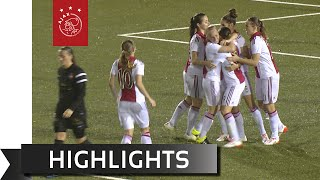 Highlights Ajax Vrouwen - Telstar