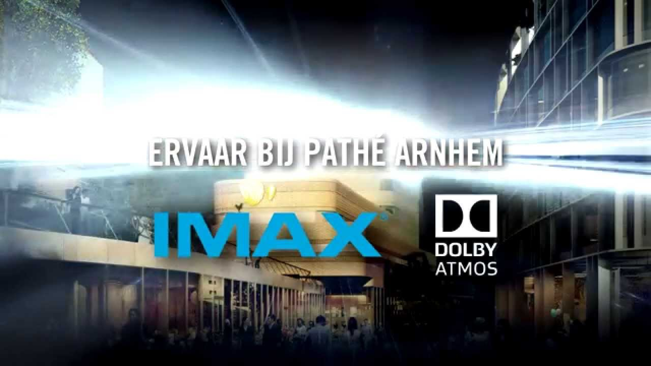 Imax en dolby atmos in path arnhem for Bios rotterdam