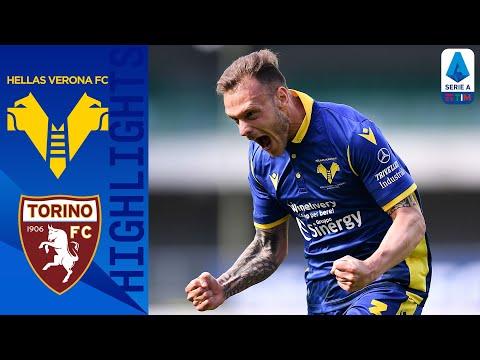 Hellas Verona 1-1 Torino   Dimarco e Vojvoda nel finale   Serie A TIM