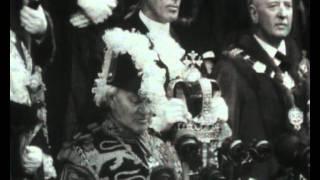 The proclamation of Queen Elizabeth II