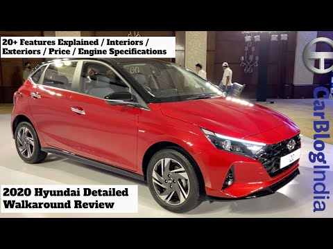 2020 Hyundai i20 Top Model Asta (O) Detailed Hindi Walkaround Review - 20+ Features Explained