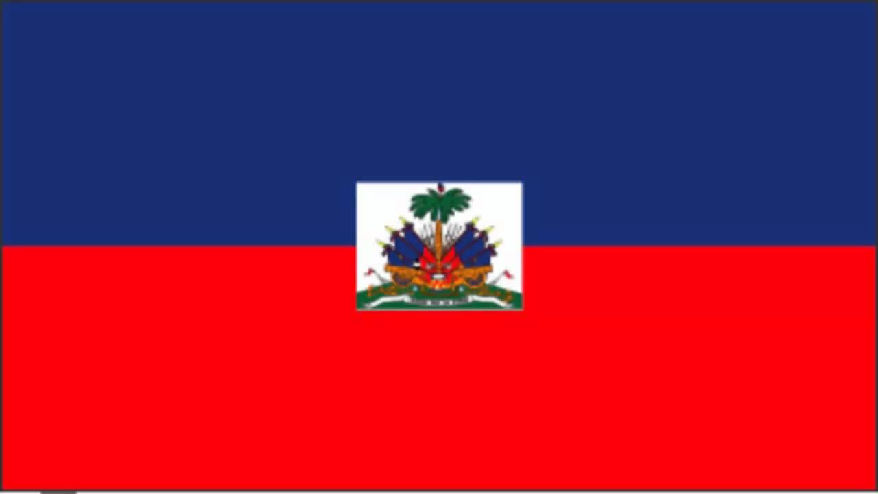 Haiti Flag and Anthem - YouTube