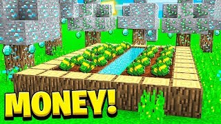 Starting My Infinite Minecraft Money Farm!