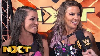 LeRae & Catanzaro have the WWE Women's Tag Team Titles in their sights: Exclusive, April 24, 2019