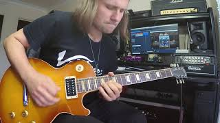 Still Got The Blues Gary Moore Cover (outro solo)