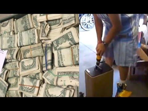 Этот мужик покупает на аукционе сейф за 500 баксов, а внутри оказывается 7.5 МИЛЛИОНОВ долларов