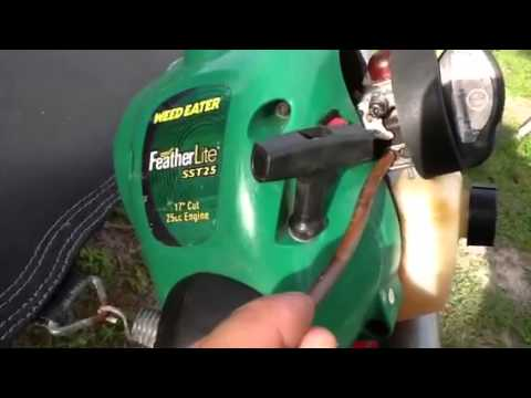 Weedeater Running Only On Full Choke Very Cheap Solution
