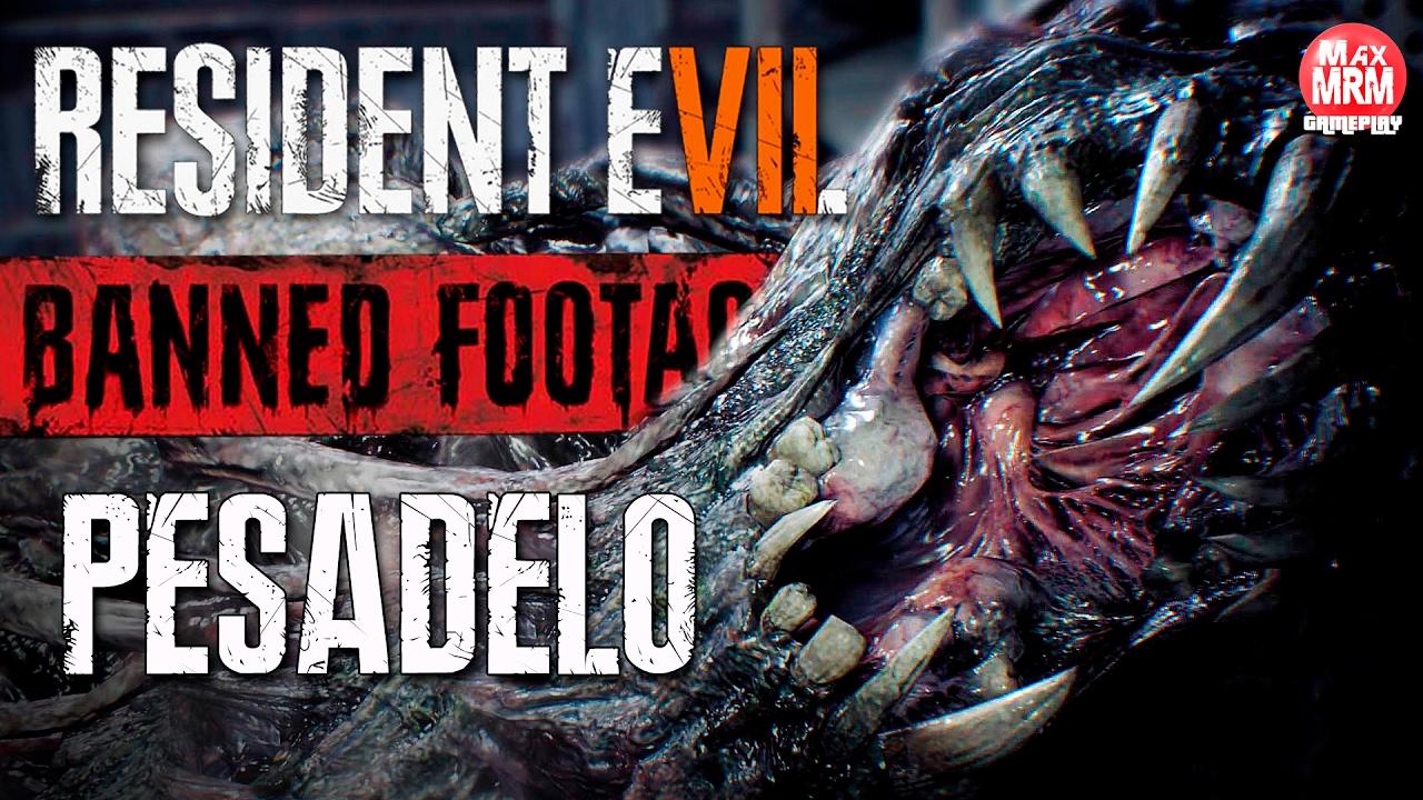 Resident Evil 7 - MODO PESADELO, EU SOBREVIVI A NOITE DO INFERNO! / Gravações Proibidas Vol.1