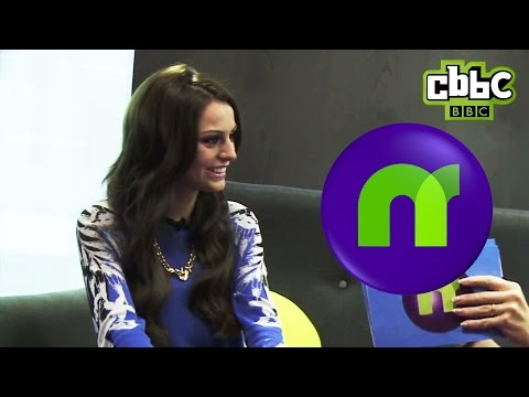 Does Cher Lloyd prefer Demi Lovato or X Factor mentor Cheryl on CBBC Newsround.
