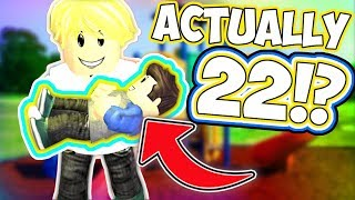 22 YEAR OLD BECOMES A BABY!? - Roblox Adopt Me