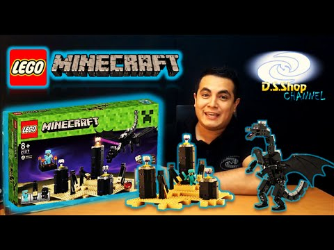Minecraft Lego 21117 The Ender Dragon Review Video Juego Lego Youtube