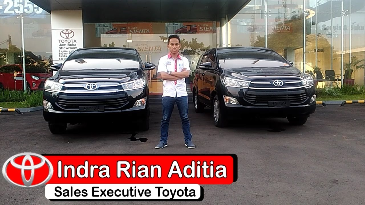 All New Kijang Innova Tipe G Grand Avanza Dark Brown Mica Review Perbedaan Toyota Dan V Youtube