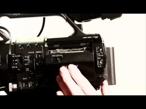 Quick intro to shooting with the Sony HVR-Z1U