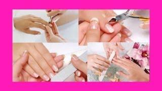 Как сделать классический маникюр / How to make classic manicure