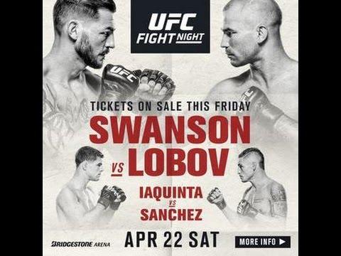The Sebs Show - UFC FIGHT NIGHT 108 NASHVILLE SWANSON VS LOBOV PICKS AND PREDICTIONS BREAKDOWN