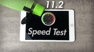 iOS 11.2 vs 11.1.2  Speed Test - iPad Mini 4