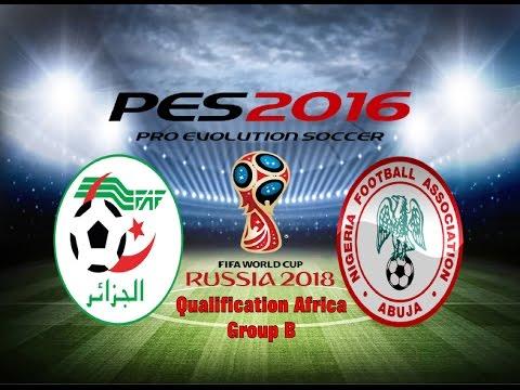 PES 2016 Gameplay Algeria vs Nigeria