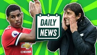TRANSFER NEWS: Rashford to leave Manchester United, Conte to be sacked? + more ► Daily Football News