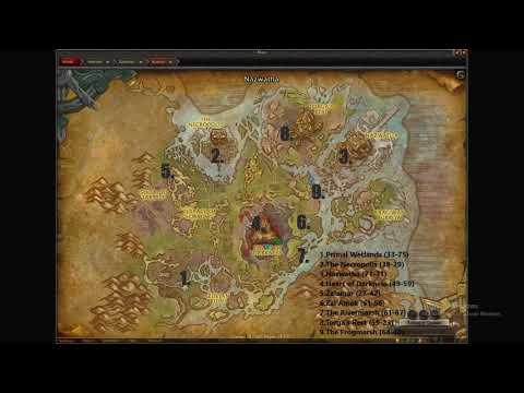 Nazmir Exploration [World Of Warcraft Battle For Azeroth Zone]